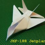 How To Make A Paper Fighter Jet - This is a cool article with a video on how to make a F15 paper airplane.  #PaperPlaneMafia