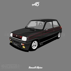 Les illustrations de christophe: Renault 5 Alpine