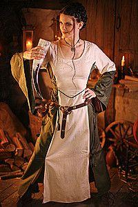 Alannia Mittelalter-Kleid