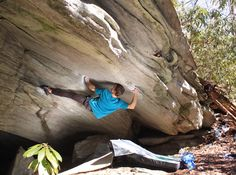 Asana Climbing Ambassador Jeremy Parnell in Boone, North Carolina