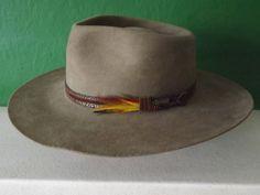 b8c02d8fa76 Akubra  Snowy River  Stockman s Pure Felt Hat- 6 cm-Made in Australia