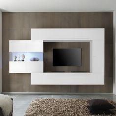 Diese #modernen #italienischen #DesignerMöbel Sind Ein Echter #Blickfang.  Variabel Stell /hängbar Können Die Einzelnen Elemente Als Moderne TV  Wohnwand Oder ...