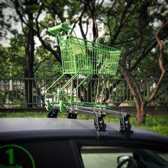 Trainingseinheit für autonome #Einkaufswagerl?