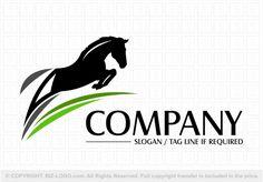 horse logo Pre-designed logo 3383 Black Jumping horse logo Pre-designed logo 3383 Black Jumping - Art Of Equitation Letterhead Logo, K Logos, School Murals, Horse Logo, Initials Logo, Dog Logo, Company Slogans, Kids Logo, Fun At Work