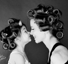 34 Lovely Mother and Daughter Photo ideas