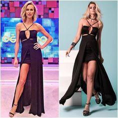 Renata Kuerten veste LeBlog Store Verão 2017 para apresentar o 'Conexão Models' deste domingo (11/09). Styling Dudu Farias. #ConexaoModels #RenataKuerten #LeBlogStore