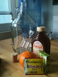 Home made mead http://www.modernbushman.com/2011/09/06/how-to-make-mead-honey-wine-diy-wine-making/