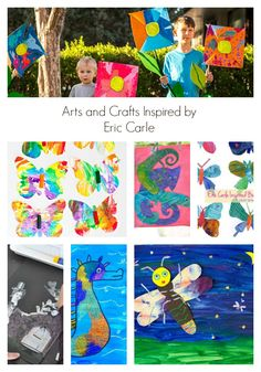 Arts and Crafts for Kids Inspired by Eric Carle