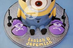 1000 Images About Despicable Me Cakes On Pinterest