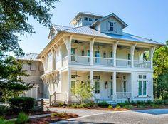 High Cotton Watercolor Florida Coastal House Plans Homes Beach Cottages