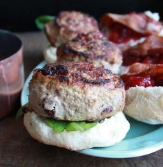 Delicious turkey/chicken sliders. Entertain your guests with these savory little ones.