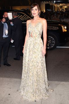 Dakota Johnson in Alexander McQueen, 2015