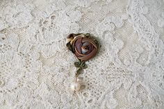 Antique Heart Pin