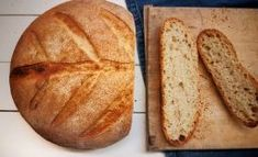 francuzsky chlieb z kvasku Bread, Gardening, Brot, Lawn And Garden, Baking, Breads, Buns, Horticulture