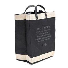 Market Bag By Apolis Global Citizen - Black