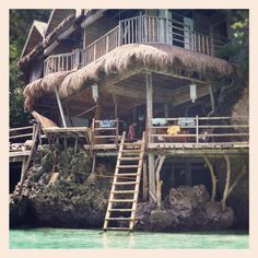 """Spider House, Philippines. BBC Boracay say:"""" Located on Diniwid Beach, Boracay Island and owned by a very nice family, Spider house remains as one of the last Hippie places in memory of the 70 th. Today acommodation and resto under one roof - well worth to visit..."""""""