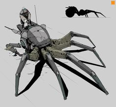 Image result for human insect concept art district 9