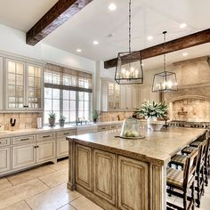 Off White Kitchen Ideas bay hill designs. beautiful off white kitchen with gorgeous fume