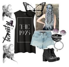 """""""Bez naslova #7"""" by mila96h ❤ liked on Polyvore featuring Alexander Wang, Hunter, Accessorize and Monki"""