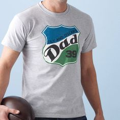 Personalised 'Dad' T Shirt from notonthehighstreet.com