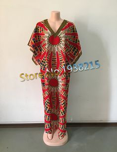 Wholesale 2016 New Fashion Design Traditional African Clothing Print Dashiki Sunflower African Dresses for Women Caftan
