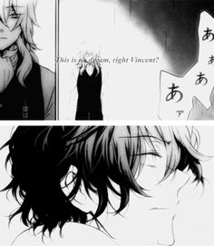 """(gif set) """"This is no dream, right, Vincent?"""" 