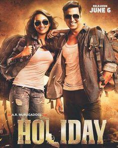 Bollywood Movie HOLIDAY, starring Akshay Kumar and Sonakshi Sinha