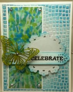 SGD Presents...: Mixed Media card