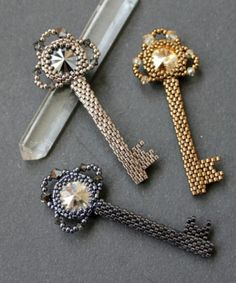 from Monica Fuentes - maybe brooch