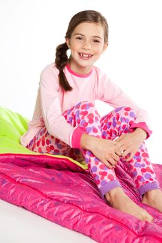 Customize our Daphne Lounge Set. Then snuggle into our colorful new sleeping bag :) {Holiday 2011}