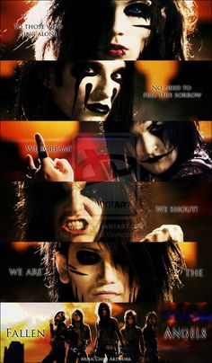 "The very FIRST time I saw this music video I thought ""ugh, I don't like girls in bands"" (DON'T HATE MY IGNORANCE) but then I found out my Ashie wasn't a girl and I'm like ""Hottness!"" I also thought Andy was the prettiest and sexiest, but knew he wasn't a girl. After watching this and knives and pens I knew this band was going to be awesome <3 LOVE!!!!!"