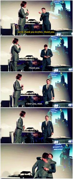 [gifset] I seriously can't watch this right now without tears...200th Ep Party #J2 #Brothers