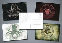 Postcards (pack)