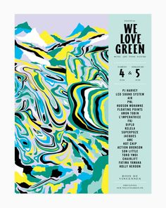 We love green - Leslie David