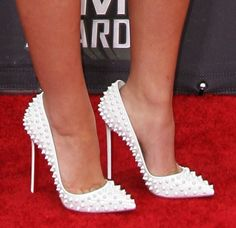 a78b0f93f9c3 Carmen Electra Talks About Sparring With Ronda Rousey at Her House at the  MMA 2016 Awards in Christian Louboutin  Lady Peep  Pumps