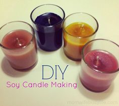 DIY Soy Candle Making with Darby Smart