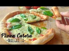 Make a great Pizza at Home Fresco, Pizza Margarita, Queso Mozzarella, Great Pizza, Vegetable Pizza, Baked Potato, Sandwiches, Tacos, Good Food