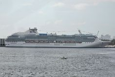 Coral Princess is one of just two cruise ships in the Princess fleet specially built to sail through the Panama Canal!