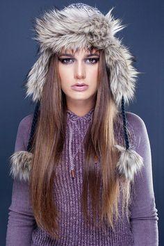 Model: Liliane Laurent Make up & Hair: Nadine Farnik Photographer: Claus Watzdorf / www. My Books, Hair Makeup, Winter Hats, Make Up, Model, Fashion, Moda, Fashion Styles, Makeup
