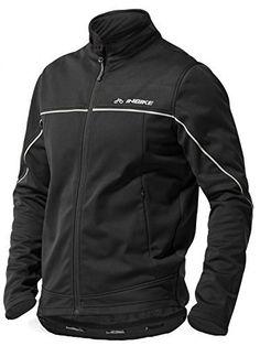 Inbike Winter Men's Fleeced Athletic Jacket Soft Shell Coat Windbreaker Thermal Tech Clothing (L, TJJ) - http://www.exercisejoy.com/inbike-winter-mens-fleeced-athletic-jacket-soft-shell-coat-windbreaker-thermal-tech-clothing-l-tjj/athletic-clothing/