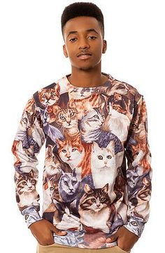 Cats Sweatshirt by Beloved Shirts. Photo courtesy of Karma Loop :)