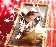 Tarte de Noël au chocolat et épices