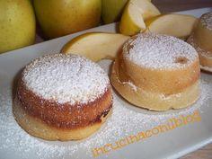 Mele in pastella cotte al forno nella teglia per muffin - dolce light