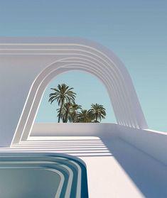 Architecture Design, Minimal Architecture, Futuristic Architecture, Architecture Wallpaper, Exterior Design, Interior And Exterior, Interior Modern, Dream Home Design, House Design