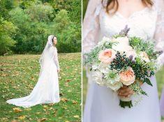 wonderful vintage wedding dress <3