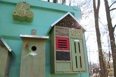Met een insectenhotel help je onmisbare insecten in de natuur een handje om een schuil- en nestelplaats te vinden.