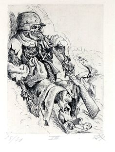 Arts Otto Dix war painting
