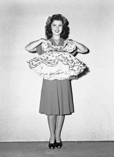 Shirley Temple on her 16th Birthday, 1944.