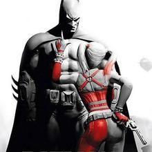 The Dark Knight & Harley Quinn