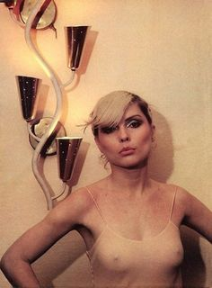 debbie harry photos from parallel lines